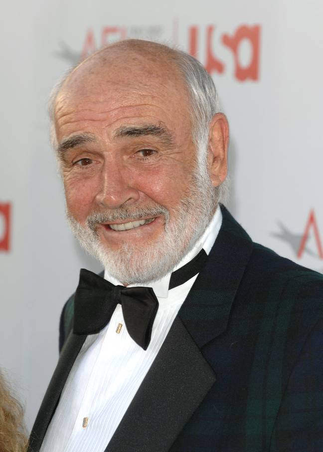 Connery in 2007. Credit: PA