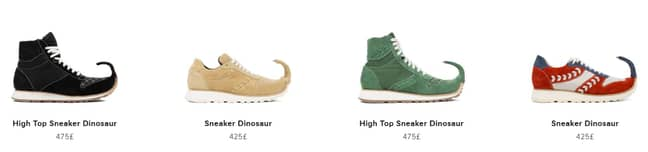 The offending trainers will set you back £475. Credit: LOEWE