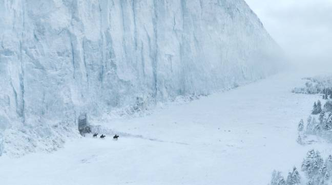 The new series could tell the origin story of the Wall and the White Walkers. Credit: HBO