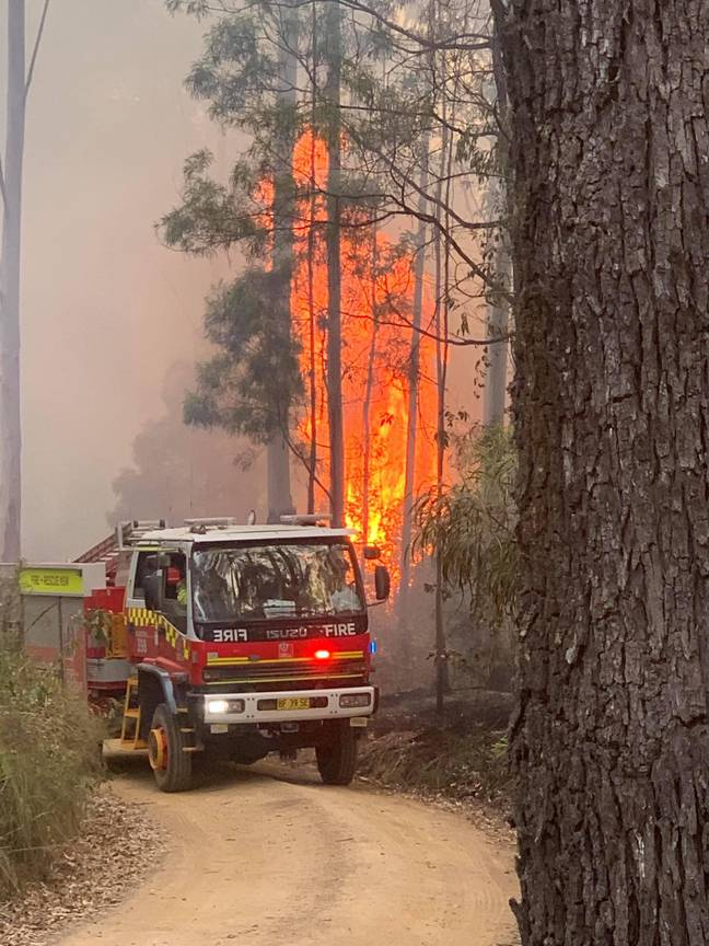 Credit: Fire and Rescue NSW Station 428 Queanbeyan