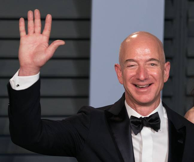 Bezos aims for eight hours of kip. Credit: PA