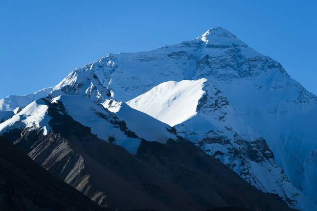 Mount Everest. Credit: PA