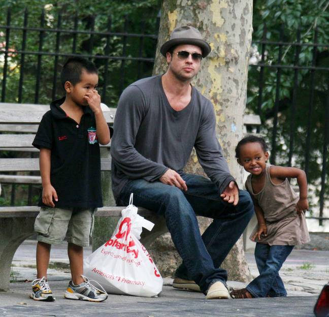 Angelina Jolie filed for divorce from Brad Pitt in 2017. Credit: PA
