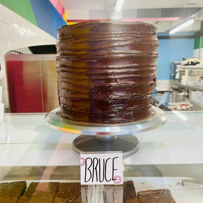 Bruce cake inspired by the film, Matilda. Credit: Get Baked
