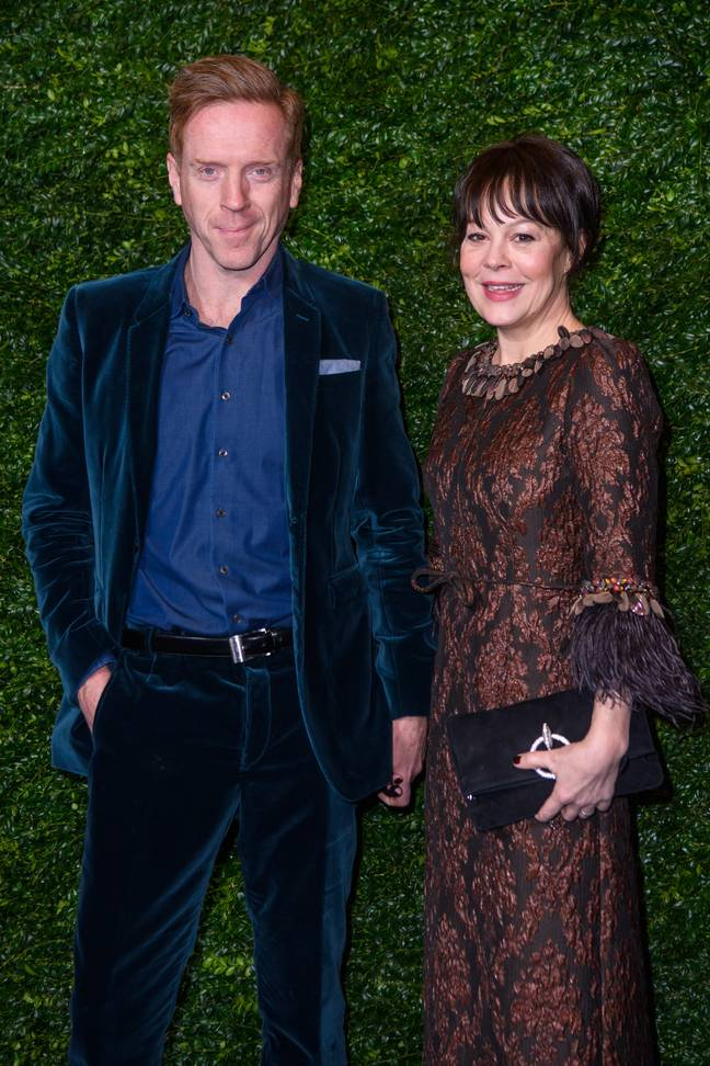 Damian Lewis and Helen McCrory. Credit: PA