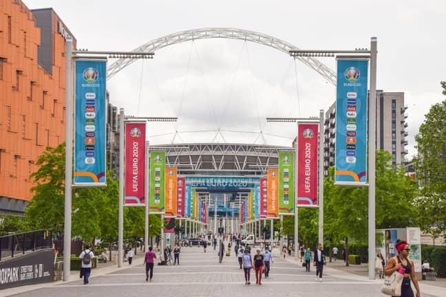 England's campaign begins tomorrow at Wembley. Credit: PA