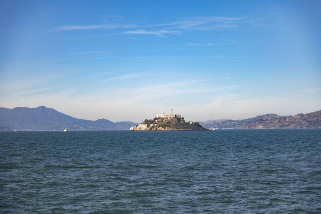 The infamous Alcatraz Island in San Francisco. Credit: PA