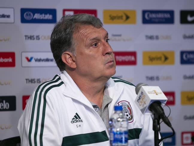 Mexico manager Gerardo 'Tata' Martino. Credit: PA