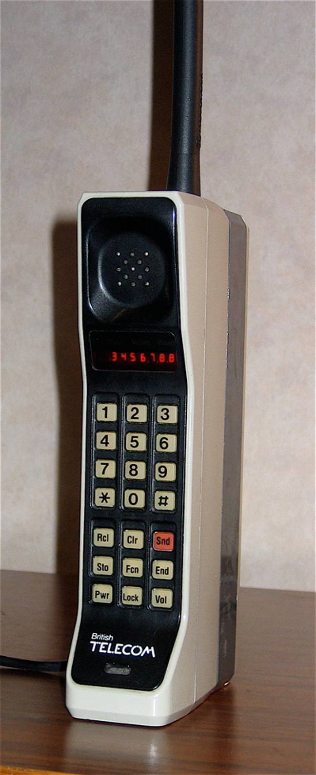 The iconic Motorola DynaTAC 8000X from 1984 could be worth up to £3,500. Credit: Wikimedia Commons/Redrum0486