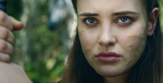 Katherine Langford as Nimue. Credit: Netflix