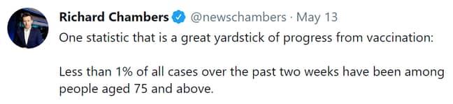 Credit: @NewsChambers on Twitter