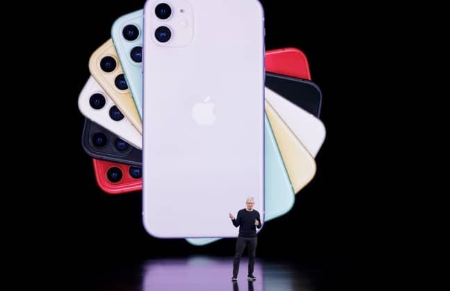 iPhone 11. Credit: PA