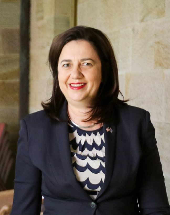Queensland Premier Annastacia Palaszczuk. Credit: US Department of Defense