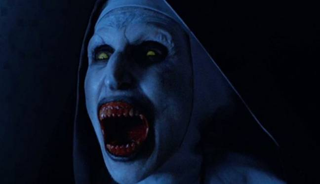 The Nun will get her own spin off. Credit: Warner Bros