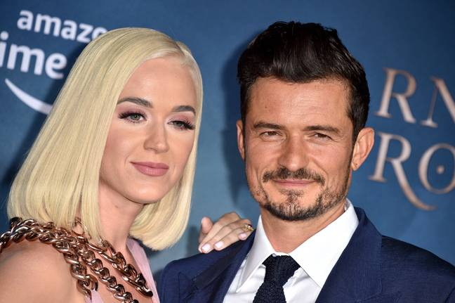 Katy and Orlando have been engaged since 2019. Credit: PA