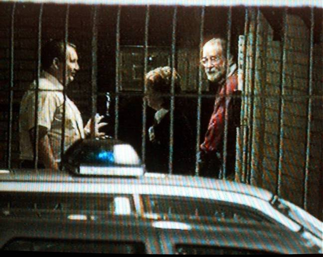 Dr Harold Shipman outside Stalybridge Police Station. Credit: Shutterstock