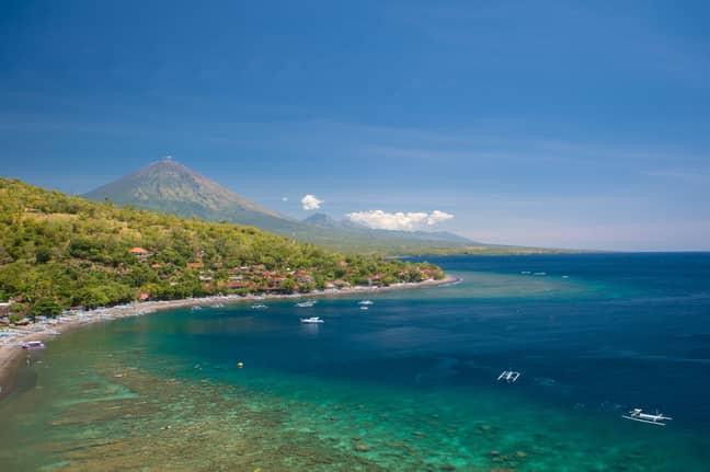 Bali looks alright though. Credit: PA