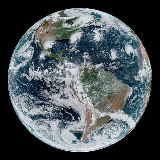 Planet Earth. Credit: NASA