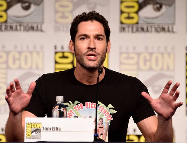Tom Ellis was happy to be back as Lucifer. Credit: PA