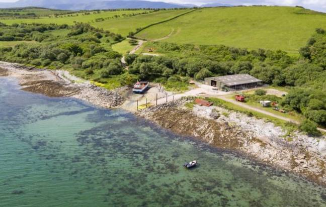 The island boasts more than four miles of coastline. Credit: struttandparker
