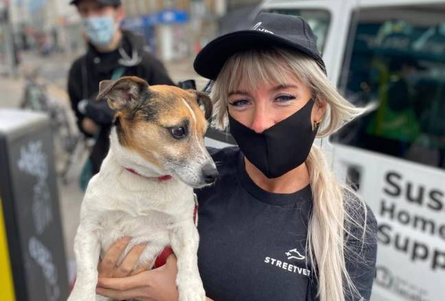 The charity goes the extra mile for homeless people and their pets. Credit: StreetVet