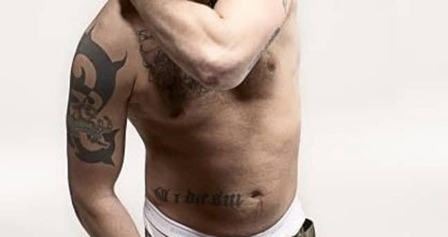 Tom Hardy's leprechaun tattoo (Credit: tom-hardy.org)
