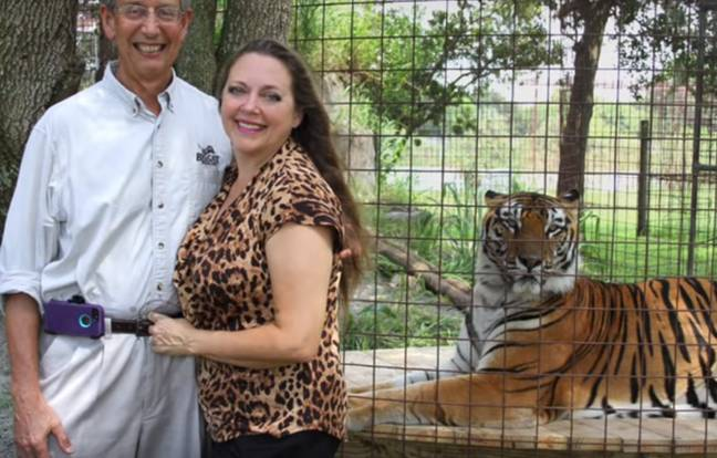 Carole Baskin owns the Big Cat Rescue. Credit: DailyBigCat/YouTube