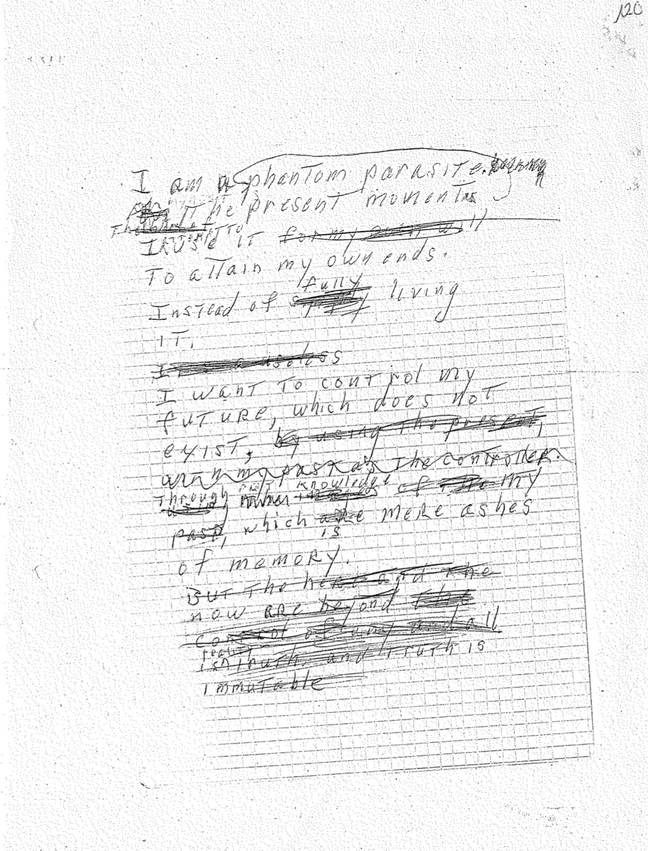 The alleged suicide note left by John McAfee. Credit: Twitter/Janice McAfee