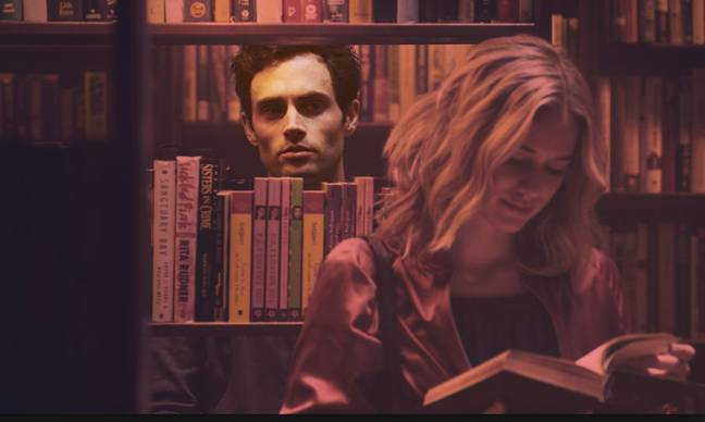 Viewers have spotted a connection between Joe and Ted Bundy. Credit: Netflix