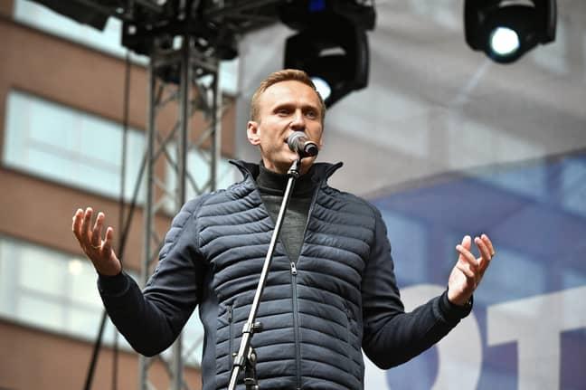 Alexey Navalny in 2019. Credit: PA