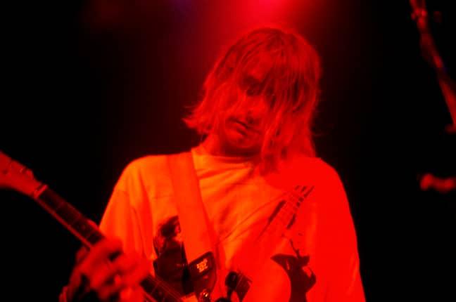 Kurt Cobain. Credit: PA