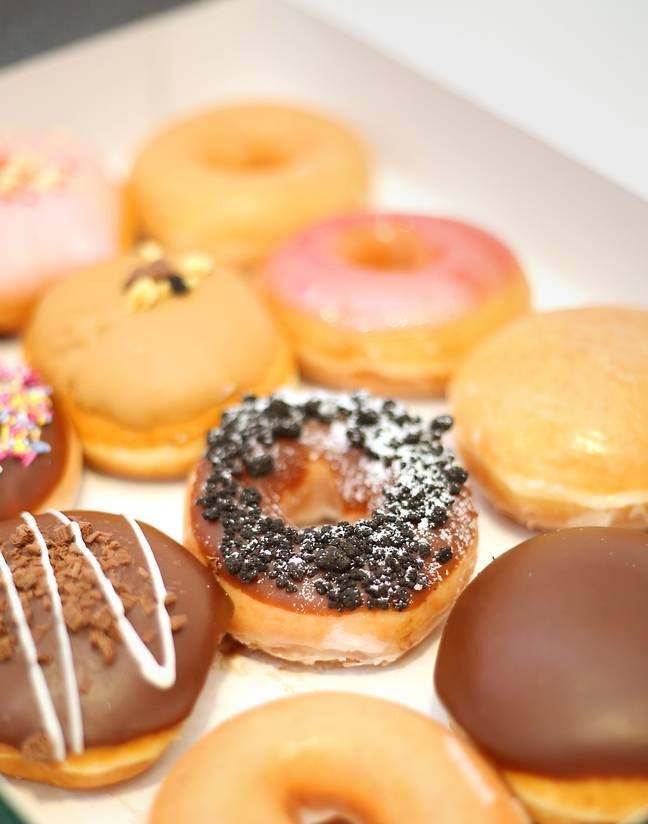 PC Simon Read reportedly tried to get a box of Krispy Kreme doughnuts for just 7p. Credit: PA