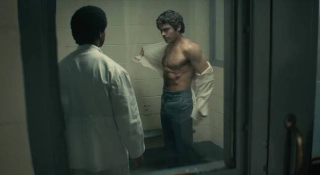Zac Efron Ripped As Ted Bundy. Credit: Voltage Pictures