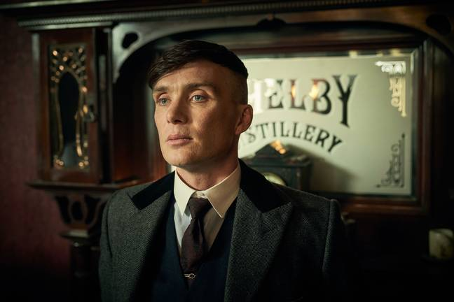 Cillian Murphy said it is exhausting playing Tommy Shelby. Credit: BBC