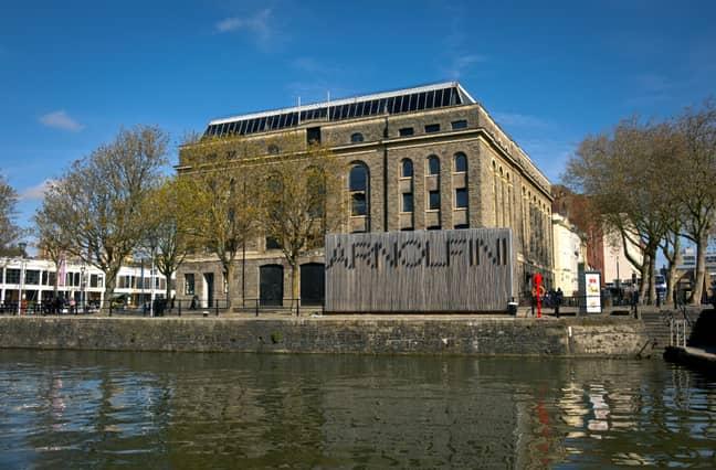 The Arnolfini arts centre in Bristol's Harbourside, where BBF operates the cafe-bar. Credit: PA