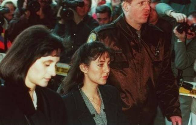 Lorena Bobbitt was 24 when she chopped her husband's penis off. Credit: ABC News