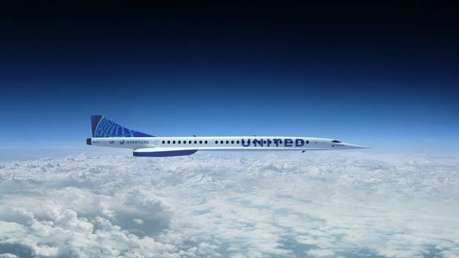 Credit: United Airlines/Boom Supersonic