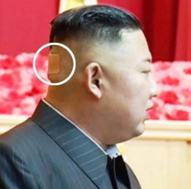 What's that then? Credit: Pyongyang Broadcast Service