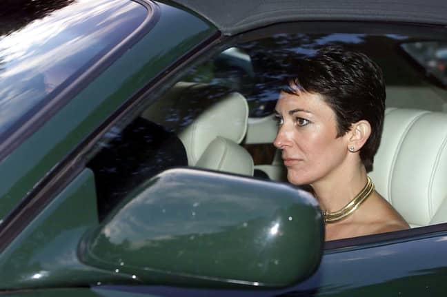 Ghislaine Maxwell in 2000. Credit: PA