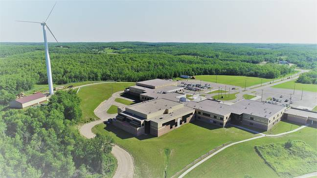 Turtle Mountain Community College. Credit: Turtle Mountain Community College/Facebook