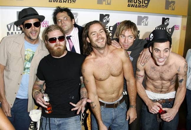 The Jackass boys back in the day. Credit: PA