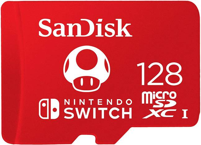 Save Big On This SanDisk microSDXC UHS-I card for Nintendo