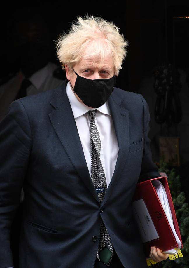 Boris Jonson said no changes would be made to restrictions over the Christmas period. Credit: PA