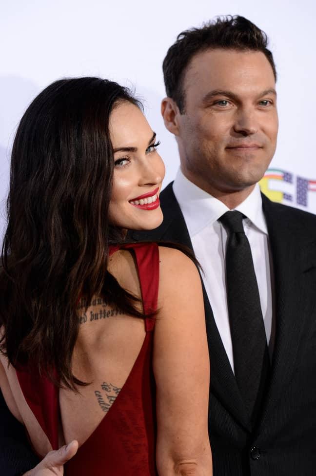 Megan Fox and ex-husband Brian Green in October 2014. (Credit: PA)