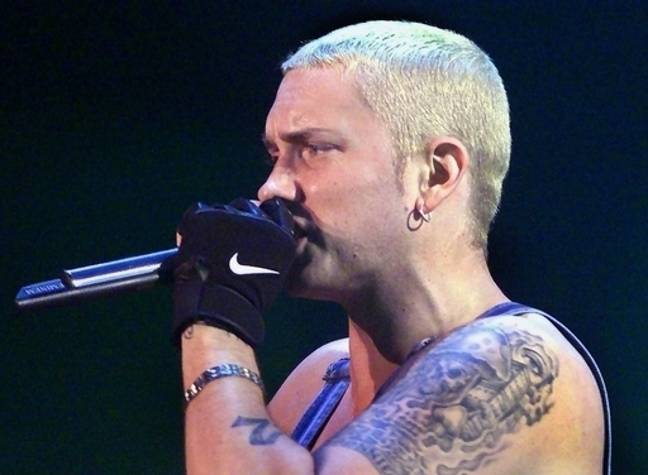 Eminem. Credit: PA