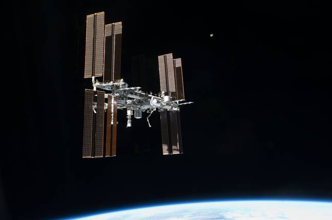 The International Space Station. Credit: PA