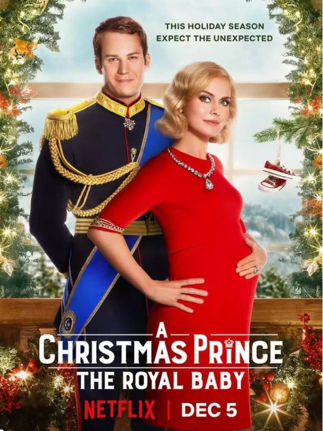 A Christmas Prince: The Royal Baby. Credit: Netflix
