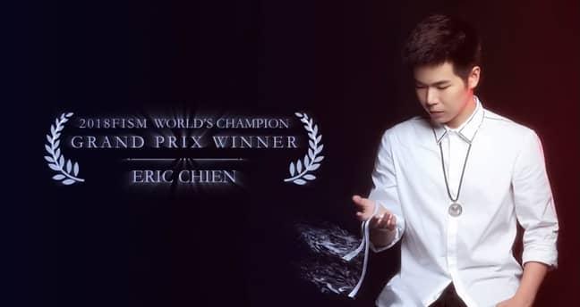 Eric Chien. Credit: FISM/Eric Chien