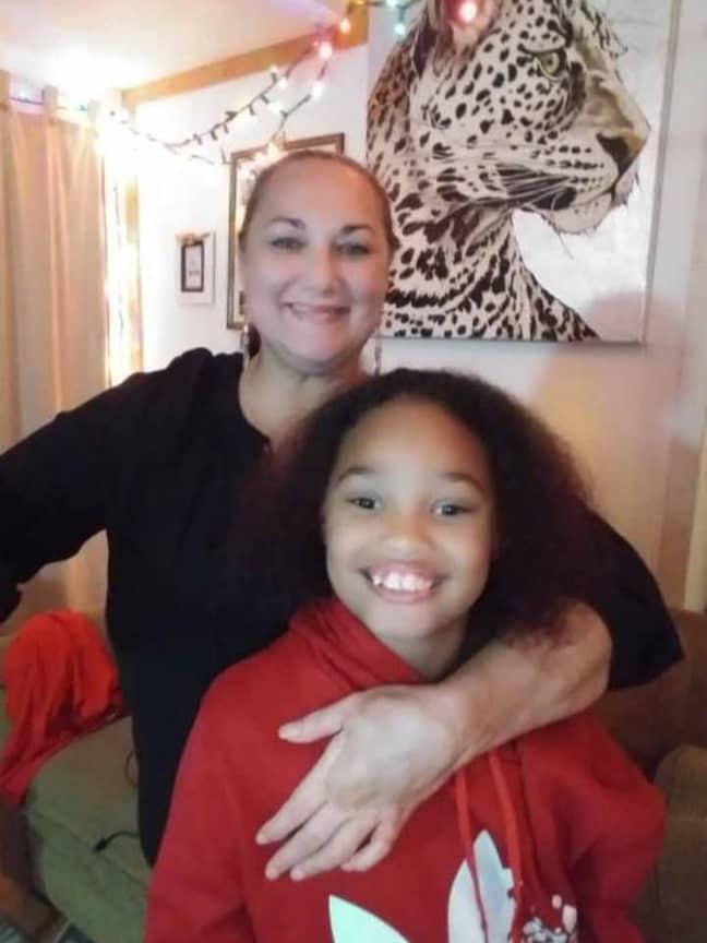Heather and her daughter AnnJolie. Credit: Media Drum World