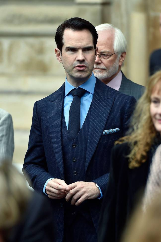 Jimmy Carr thinks this 'overreaction' has been accelerated by social media. Credit: Alamy